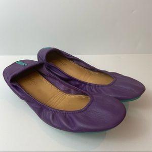 Tieks Gavrieli Lilac Purple Leather Ballet Flats